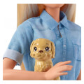 mattel barbie dreamhouse adventures blonde doll with puppy fwv25 extra photo 2