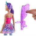 mattel barbie dreamtopia fairy doll with purple wings gjk00 extra photo 1