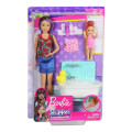 mattel barbie skipper babysitter inc doll and bathtub playset fxh05 extra photo 1