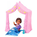 mattel barbie skipper babysitters inc pink tent with baby doll playset extra photo 1
