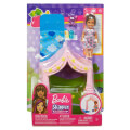 mattel barbie skipper babysitters inc pink tent with baby doll playset extra photo 2