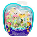 mattel enchantimals bug buddies cay caterpillar scriggly beetrice pollen mini doll extra photo 1