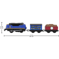 fisher price thomas friends trackmaster trains with 2 wagons gustavo ghk78 extra photo 1