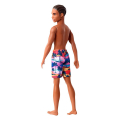 barbie ken beach dark skin doll with swim pants ghw44 extra photo 1