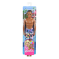 barbie ken beach dark skin doll with swim pants ghw44 extra photo 3