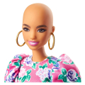 barbie fashionistas 150 no hair look floral dress white booties earrings gyb03 extra photo 1