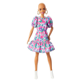 barbie fashionistas 150 no hair look floral dress white booties earrings gyb03 extra photo 3