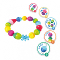 as lalaboom montessori education 5 in 1 snap beads 1000 86090 extra photo 1