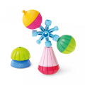 as lalaboom montessori education 5 in 1 snap beads 1000 86090 extra photo 2