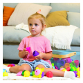 as lalaboom montessori education 5 in 1 snap beads 1000 86090 extra photo 5