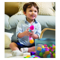 as lalaboom montessori education 5 in 1 snap beads 1000 86090 extra photo 6