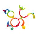 as lalaboom montessori education rainbow beads 1000 86153 extra photo 1
