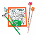 as pencils erasers and printed pages animals 1023 66118 extra photo 3