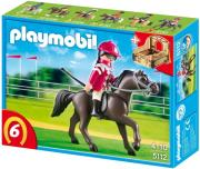 playmobil 5112 race horse with stall arabiko alogo photo