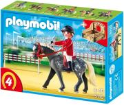 playmobil 5110 show horse with stall alogo trakehner photo