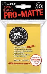 yellow pro matte deck prot50 ct for pokemon ygo mtg wow dungeons photo