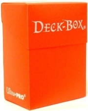 orange solid deckbox pokemon vanguard wow ygo mtg buddy fight dungeons photo