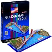 golden gate bridge 3d puzzle 20pz cubicfun photo