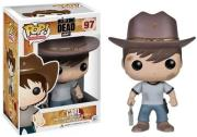 pop television walking dead carl photo