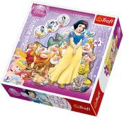 trefl puzzle silhouette 180pcs snowwhite photo