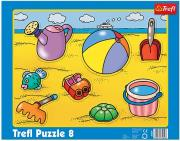 trefl puzzle frame 8pcs at the sea side photo