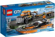 lego 60085 city 4x4 with powerboat photo