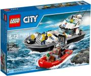 lego 60129 city police police patrol boat photo