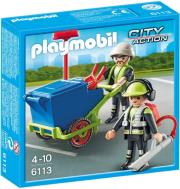 playmobil 6113 omada odokathariston photo