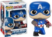pop marvel civil war captain america with shield 137 photo
