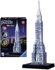 ravensburger pazl 3d crystler building night vision photo