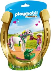 playmobil 6969 pony me kardoyles kai koritsaki photo