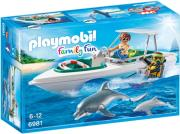 playmobil 6981 taxyploo me dyti kai delfinia photo