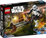 lego 75532 scout trooper speeder bike photo