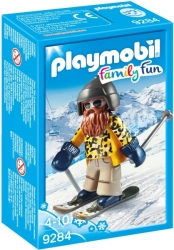 playmobil 9284 skier freestyle photo