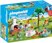 playmobil 9272 party ston kipo me barbecue photo