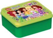 lego lunch box friends bright green photo