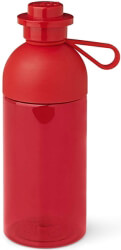 lego lego hydration bottle 05l tansparent red photo