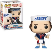 funkopop television stranger things steve with hat and ice cream 803 vinyl figure photo