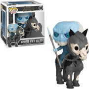 funkopop rides game of thrones mounted white walker on horse 60 vinyl figure photo