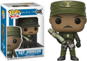 funko pop halo halo sgt johnson 08 vinyl figure gaming photo