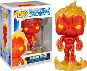 funko pop marvel fantastic four human torch 559 bobble head vinyl figure photo