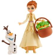 hasbro disney frozen ii anna olaf small dolls e7079eu40 photo