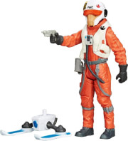 hasbro star wars e7 x wing pilot asty figure wave 2 9cm b4167 photo