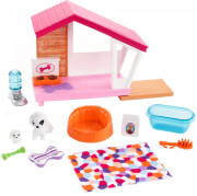 mattel barbie furniture and accessories puppies dog house unicorn playset photo