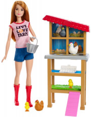 mattel barbie you can be anything chicken farmer frm15 photo