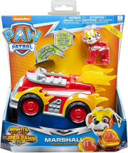 paw patrol mighty pups superpaws marshall deluxe vehicle 20115476 photo