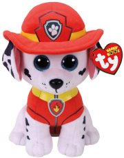 paw patrol ty beanie boopaw patrolmarshall 23cm 1607 96322 photo