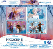pazl frozen 2 4 wood puzzles 23 cm x 15 cm 20115365 photo