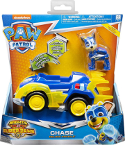 paw patrol mighty pups super paws chase deluxe vehicle 20115475 photo