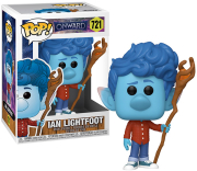 funko popdisney onward ian lightfoot with staff 721 vinyl figure photo